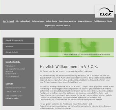 Verband der SiGe-Ko Deutschland e.V.